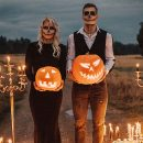 15 Chic Ideas to Throw a Spooky and Stylsh Halloween Wedding