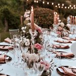 20+ Unique Rose Gold Wedding Table Decoration to Inspire