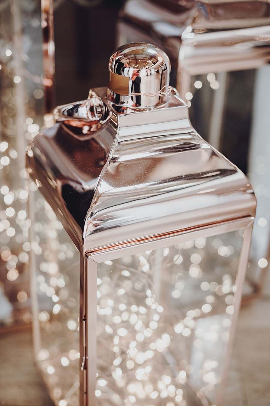greatest romantic mirror rose gold lantern with light for wedding centerpieces ideas