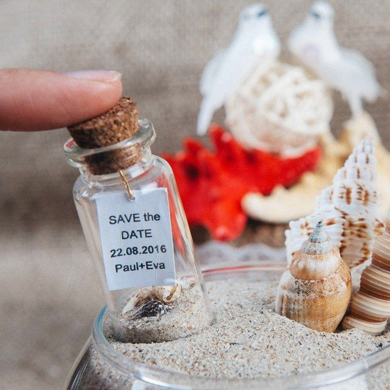 small jar save the date