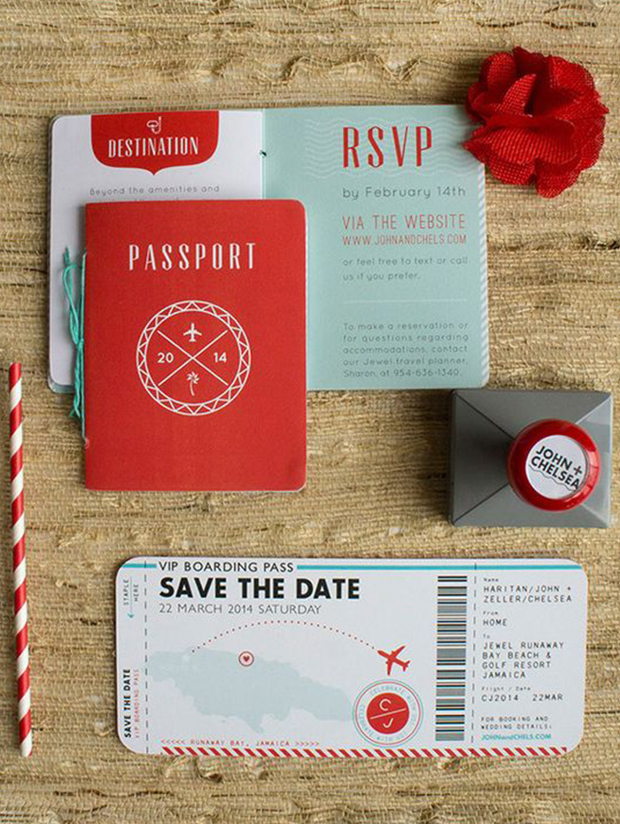 transport save the date