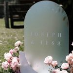 30 Creative Lucite /Acrylic Wedding Signs for 2021 Trends