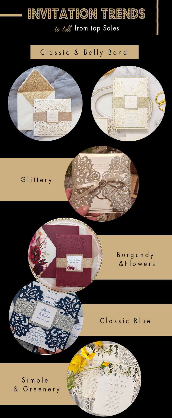 wedding invitation trends inspired by invitation top sales