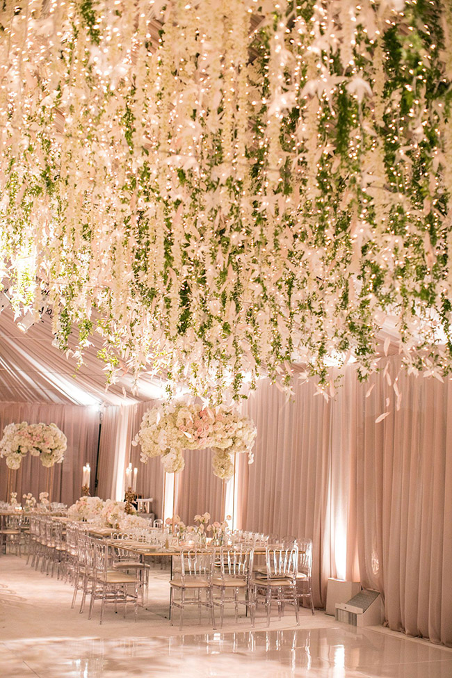 glamorous ballroom wedding reception ideas
