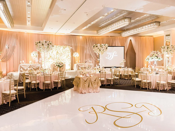 magnificent small banquet hall wedding tips