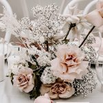 Elegant Modern Chic Light Pink and White Wedding Ideas