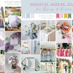6 Most Innovative Wedding Color Ideas for Spring and Summer
