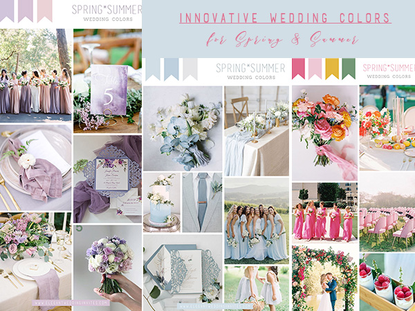 the most innovative spring and summer wedding colors 1