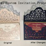 How to Order Your Semi-Custom Wedding Invitations at Elegant Wedding Invites?