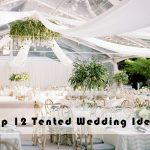 12 Hot Wedding Decor Ideas for a Dramatic Outdoor Tented Wedding