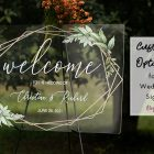 How Can You Customize Acrylic Wedding Signs to Fit Your Wedding Style