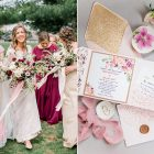 {Real Wedding} Brendon & Tabea's Colorful, Bohemian Style Wedding