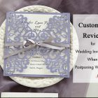 {Customer's Review} Issues to Wedding Invitations When Postponing Your Wedding