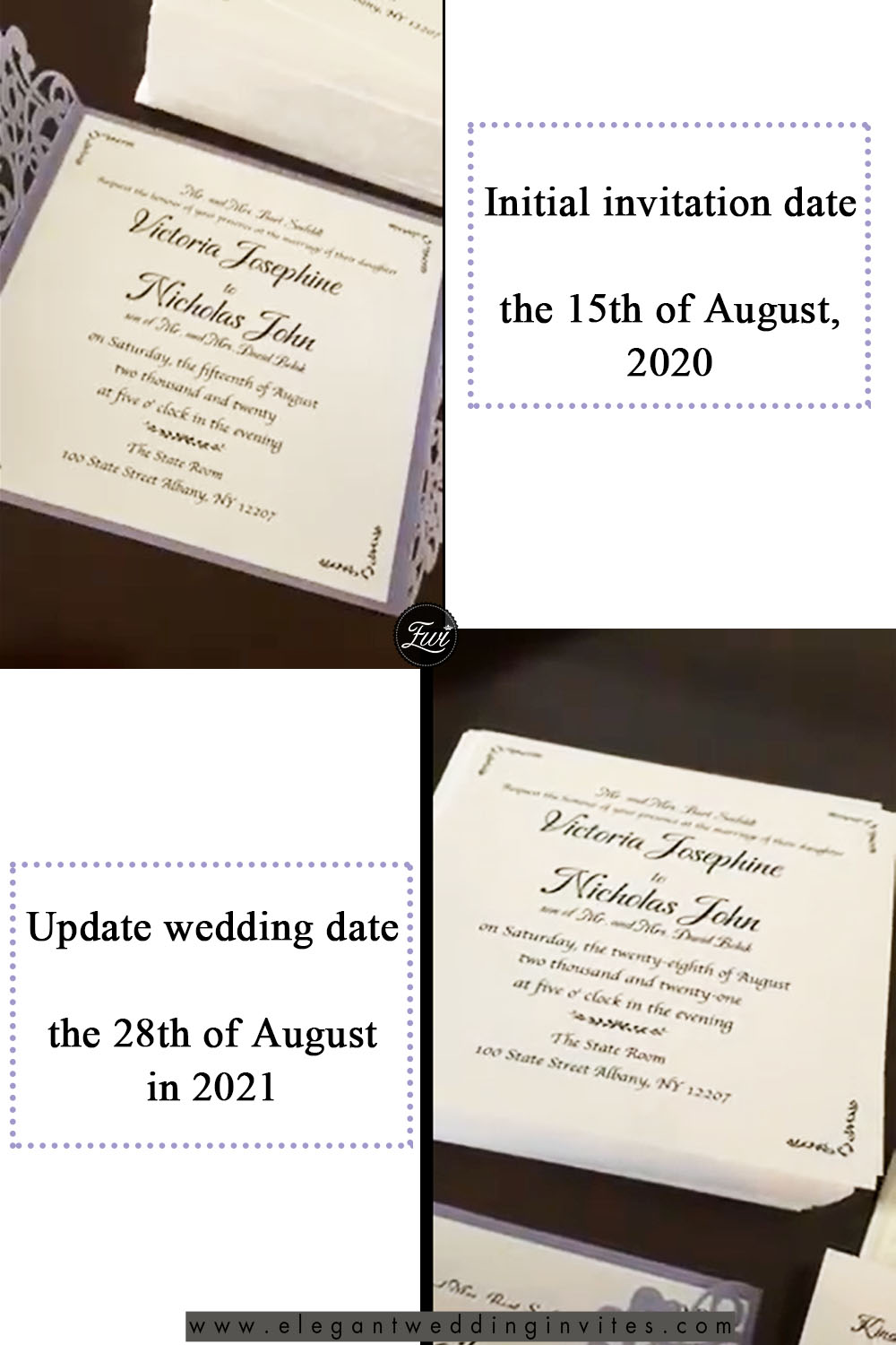 Customer's Review Issues to Wedding Invitations When Postponing Your Wedding 2