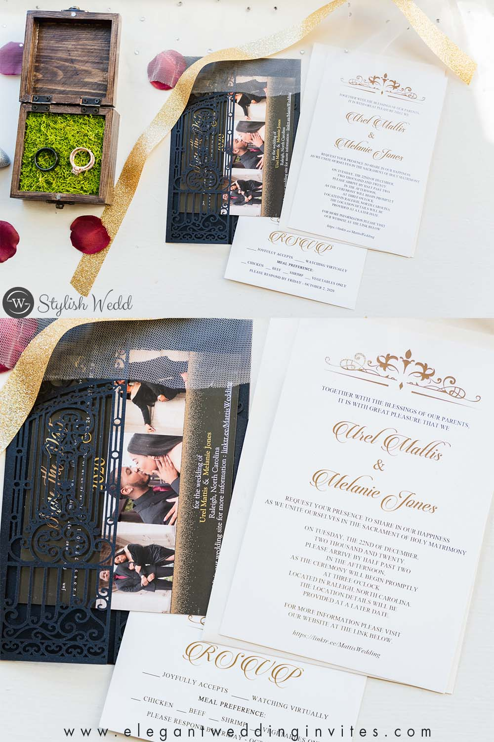 Influencer's Video Where to Buy and design Your Own Wedding Invitations online