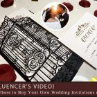 {Influencer's Video} Where to Buy Your Own Wedding Invitations online
