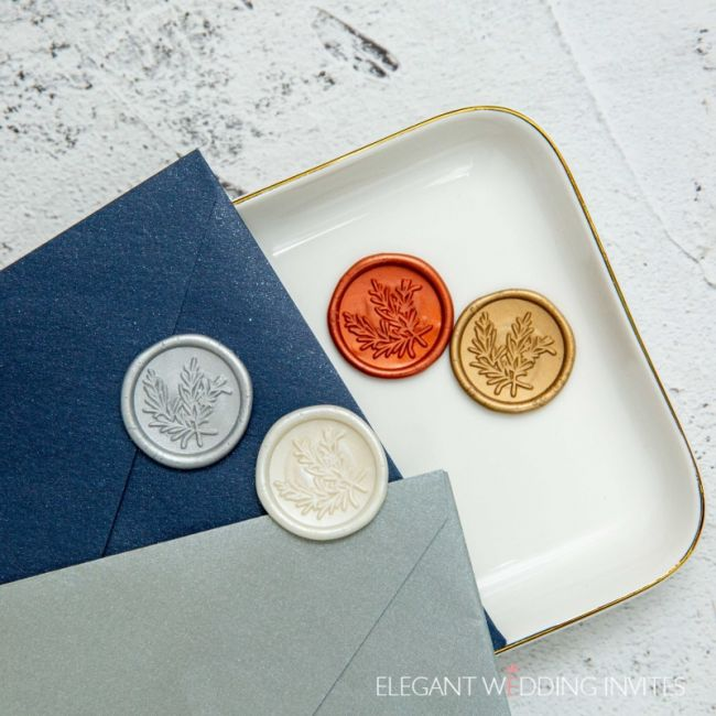customize letters wax seal for invitations