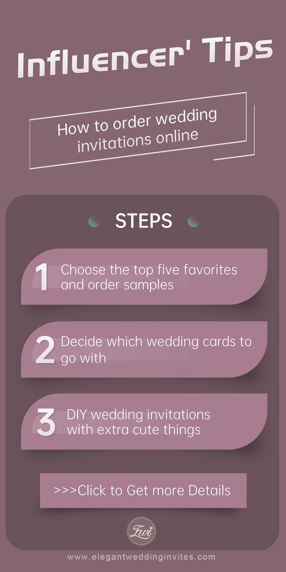 tips:how to order wedding invitations online