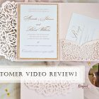 {Video Review} 3 Reasons Why I Shopped My Invitations in Elegant Wedding Invites