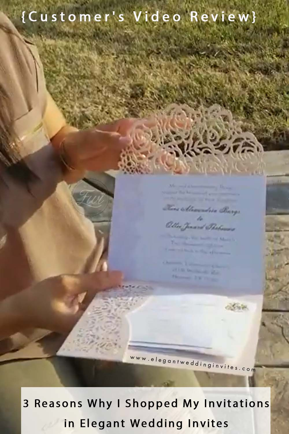 customer Video Review 3 Reasons Why I Shopped My Invitations in Elegant Wedding Invites