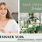 {Designer's Video} What color goes the best with sage green for a wedding?