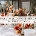7 Ways to Improve Your Fall Wedding Right Now