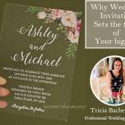 {Planner Vlog} How to Create a Wedding Invitation to Fit Your Big Day?
