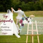 Top 5 Burgundy Macthing Fall and Winter Wedding Color Palettes