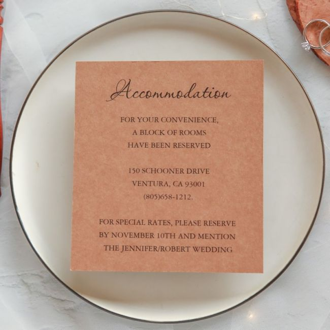 elegant rustic accommodation cards a1
