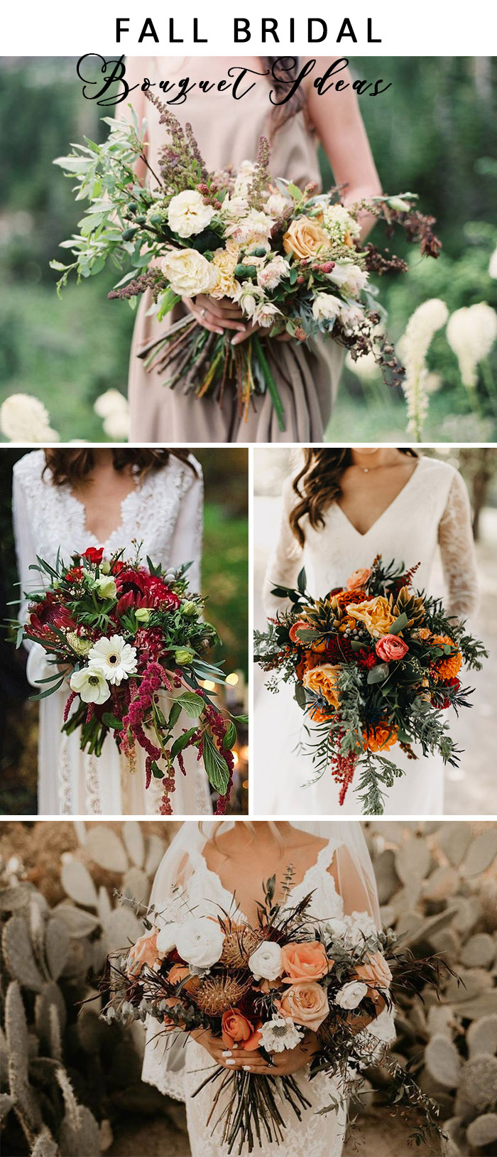 trending fall and autum fall wedding flower bouquets 1