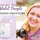 {Photographer Blog} Capture the Splendor and Romance of Your Wedding with Violet Invitations