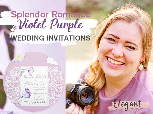 Photographer Blog Capture the Splendor and Romance of Your Wedding with Violet Invitations