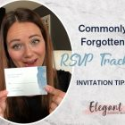 {Planner Vlog} Commonly Forgotten Things with Wedding RSVP Tracking Tips